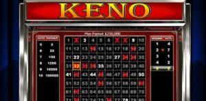 KEY TIPS TO WIN BIG AT KENO ONLINE GAME